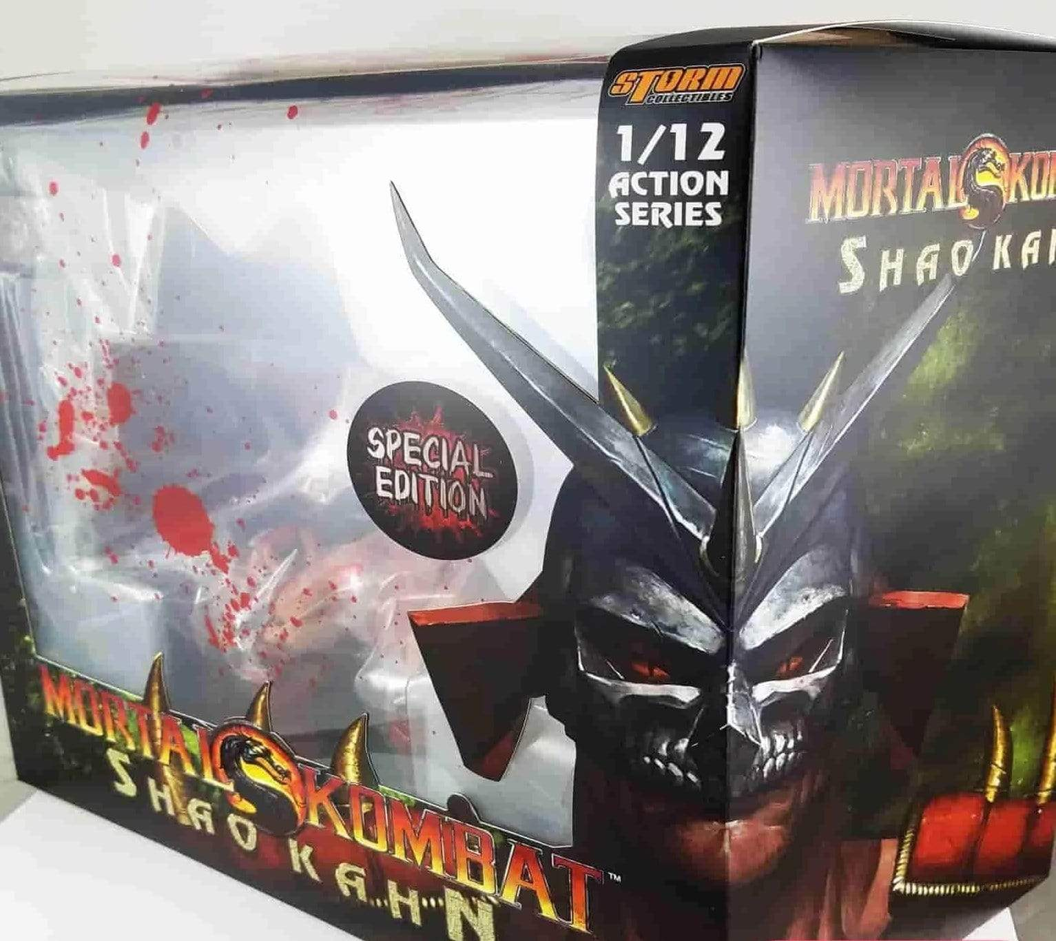 Shao Kahn (Special Edition) Mortal Kombat 1:12 Action Figure by Storm Collectibles - IamRetro.com