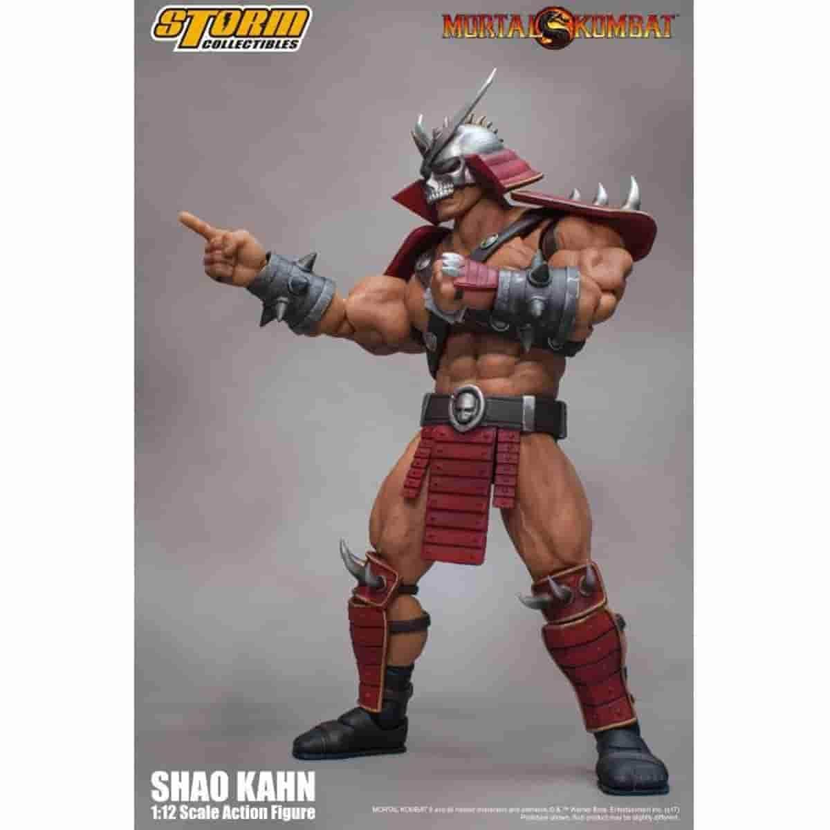Shao Kahn Regular Variant Mortal Kombat Action Figure by Storm Collectibles - IamRetro.com