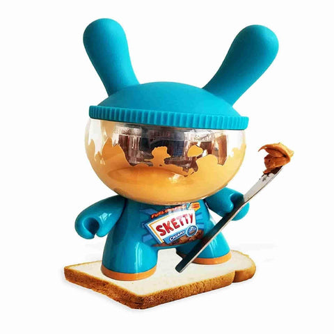 "Sketty Peanut Butter Used 8"" Custom Dunny by Sket-One"