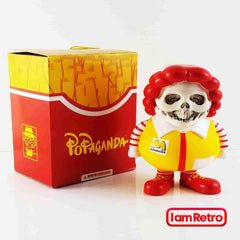 Skull X-Ray MC Supersized 3-inch Mini FIgure - by Ron English Popaganda Mindstyle