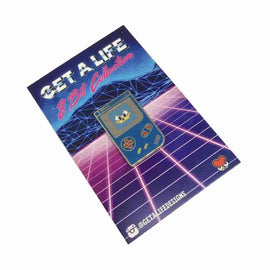 SONIC: 8 BIT COLLECTION - Gameboy Hard Enamel Pin by Get A Life Designs - IamRetro.com