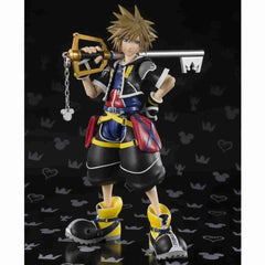 Sora Kingdom Hearts II Action Figure by Bandai - Tamashii Nations S.H. Figuarts - IamRetro.com