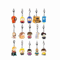 South Park Zipper Pull Keychain Series - Full Display Case 24 pcs - IamRetro.com