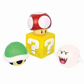 Super Mario Bros. Stress Ball Set of 4 Characters - Nintendo