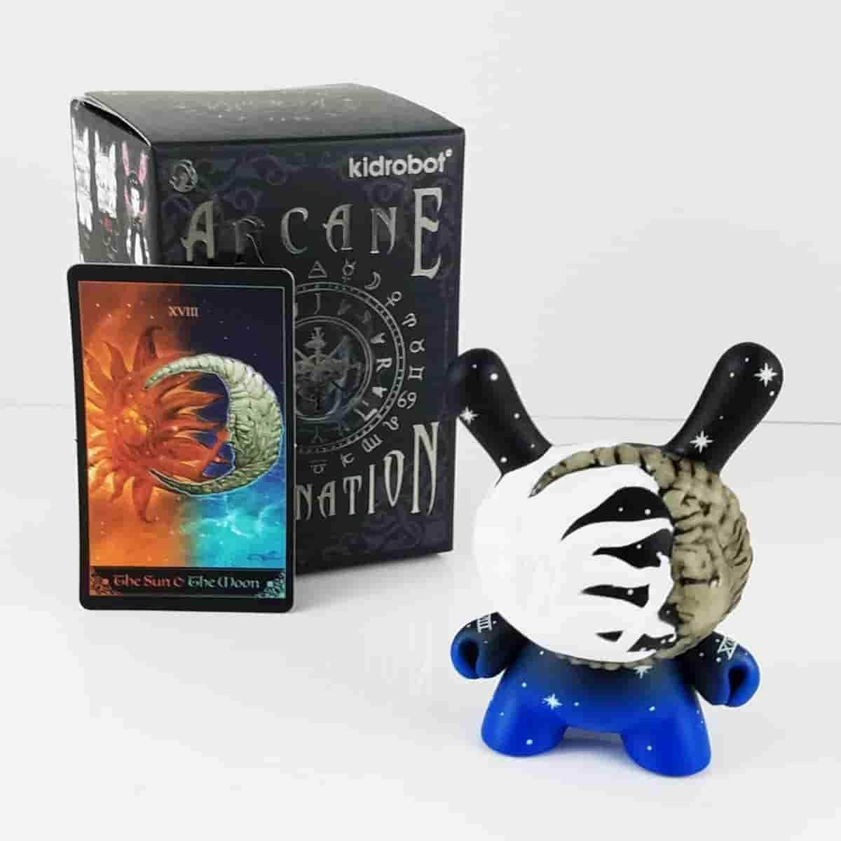 Sun and Moon - Arcane Divination Dunny Series by Kidrobot - IamRetro.com