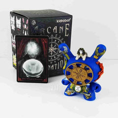 The Wheel of Fortune Arcane Divination Dunny Series by Kidrobot - IamRetro.com