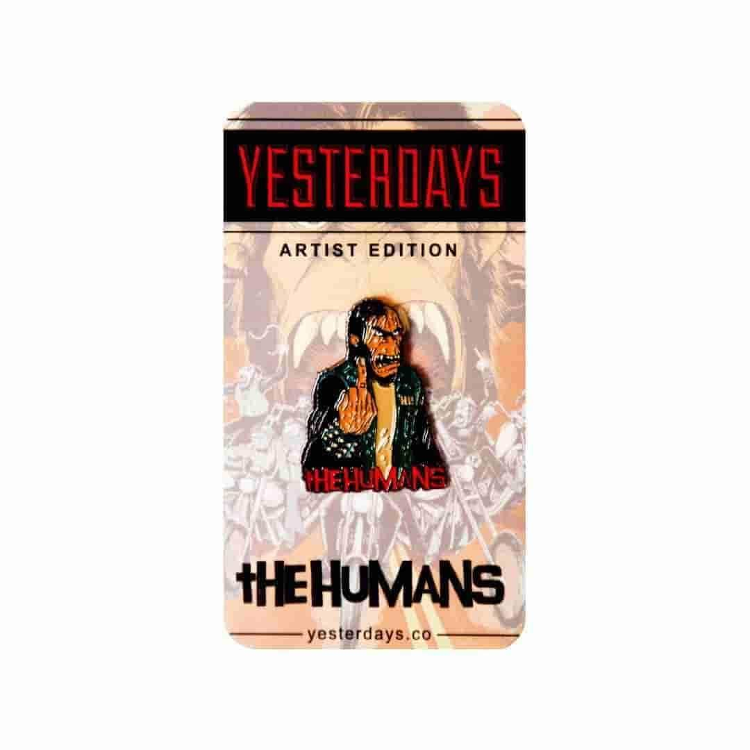 Yesterdays x The Humans - Karns - Pin - IamRetro.com
