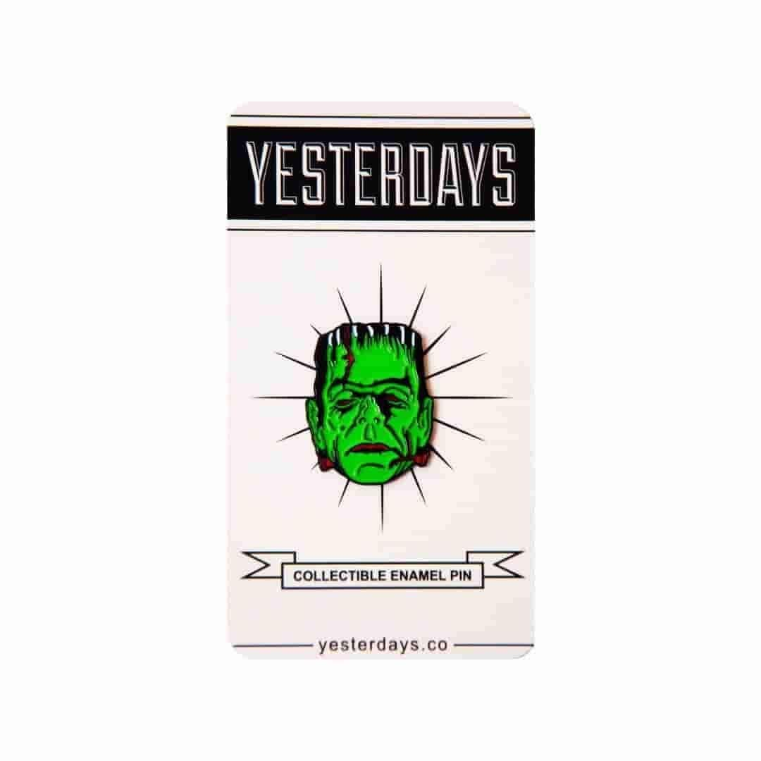Yesterdays - Maniac Monsters - The Monster - Pin - IamRetro.com