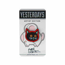 Yesterdays x Matt Richie - Wayshak's Cat - Pin - IamRetro.com