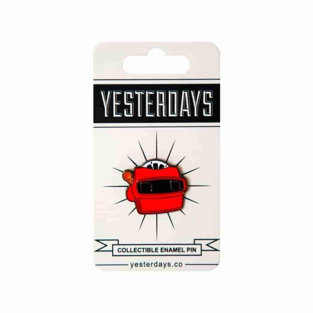 Yesterdays - View Master - Pin - IamRetro.com