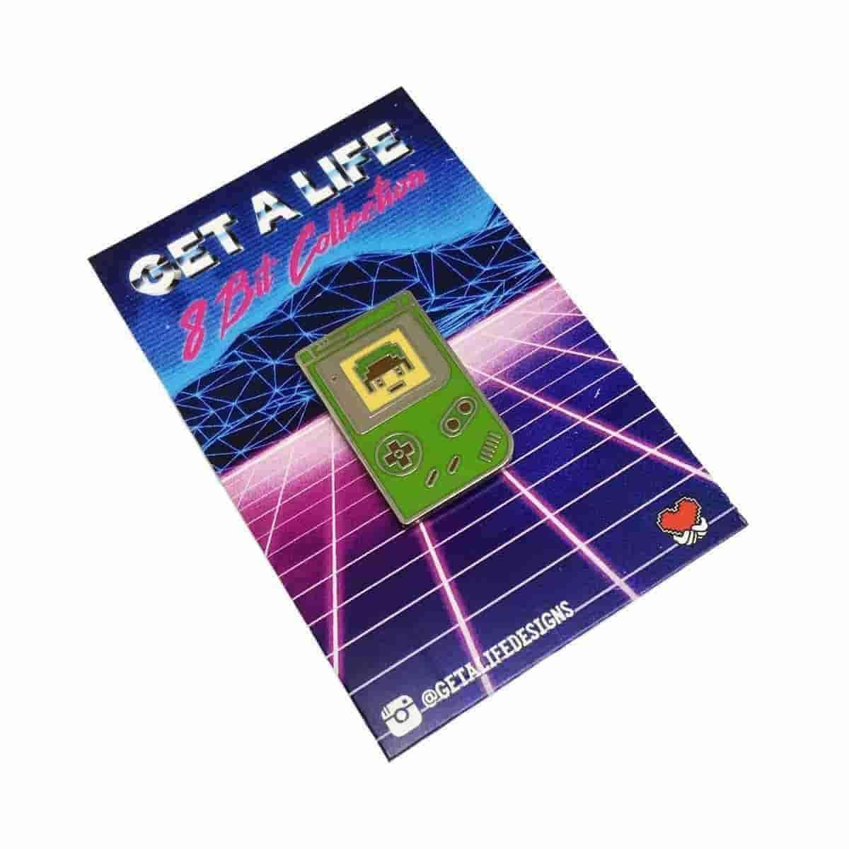 LINK: 8 BIT COLLECTION - Legend of Zelda Gameboy Hard Enamel Pin by Get A Life Designs - IamRetro.com