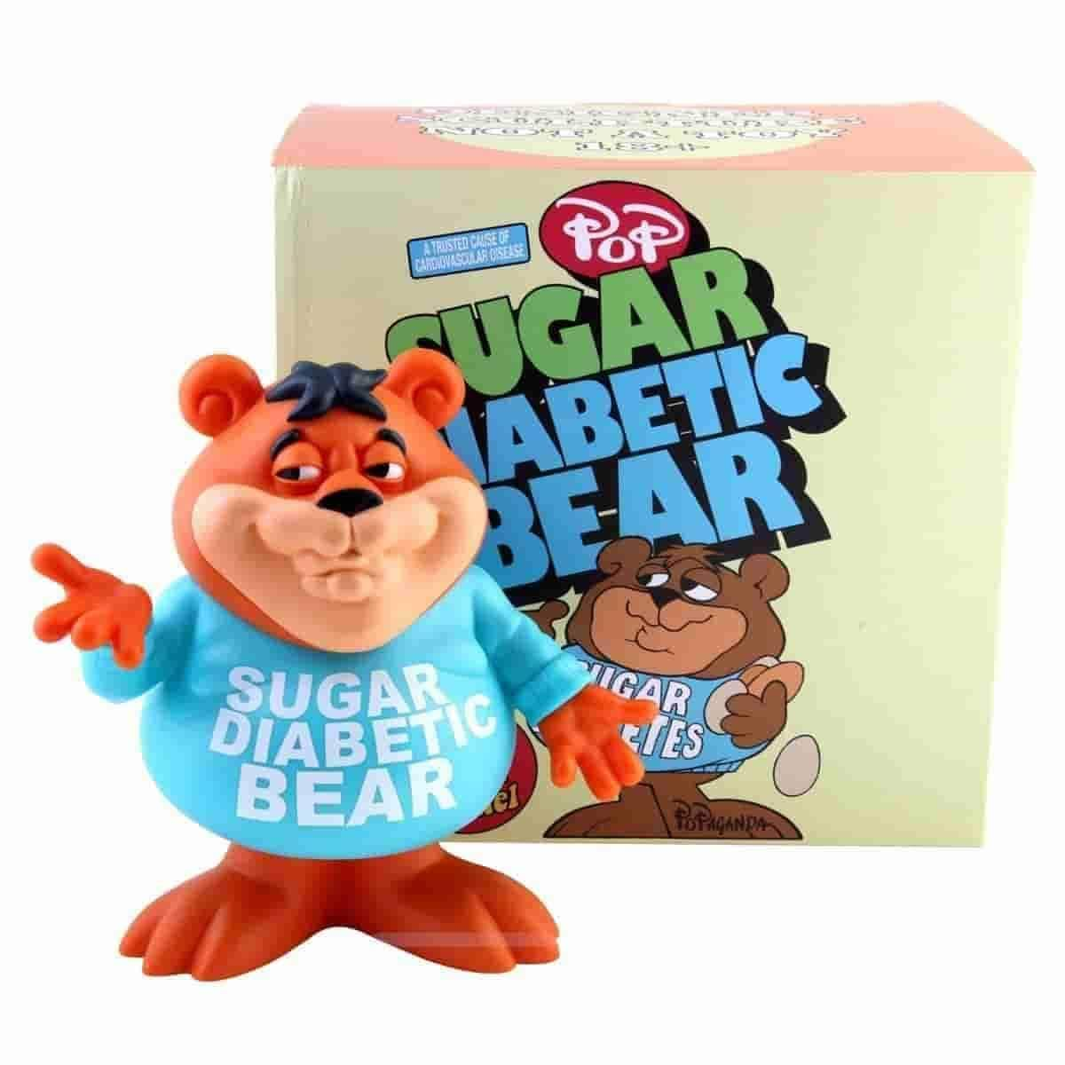 Sugar Diabetic Bear Cereal Killers by Ron English - IamRetro.com