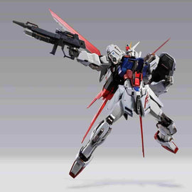 Aile Strike Gundam Metal Build Mobile Suit Gundam by Bandai - iamRetro.com