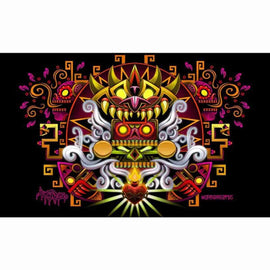 Death Song 11x17 Art Print Print Signed by Jesse Hernandez (Urban Aztec) - IamRetro