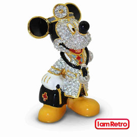 Doctor Mickey Mouse Jeweled Figurine by Arribas Brothers x Swarovski x Disney - iamRetro.com