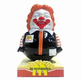 MC SuperSized Orange & Black by Secret Base x Toy Tokyo - Ron English - Popaganda