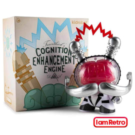 "Cognition Enhancement Engine 8"" Dunny Ritzy Red by Doktor A x Kidrobot"