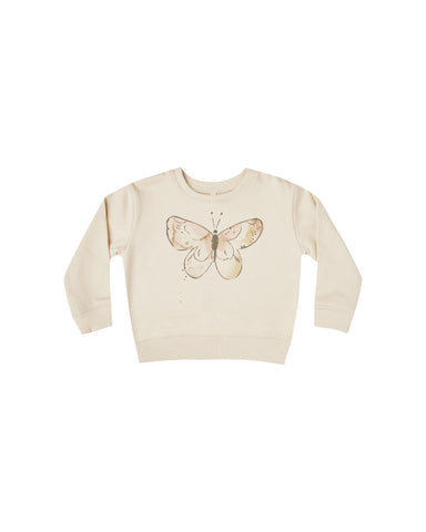 Rylee + Cru Butterfly French Terry Sweatshirt