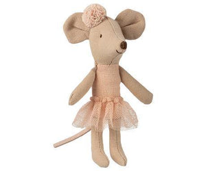 Maileg Ballerina Mouse, Little Sister, Children's Accessories - turquoise, llc