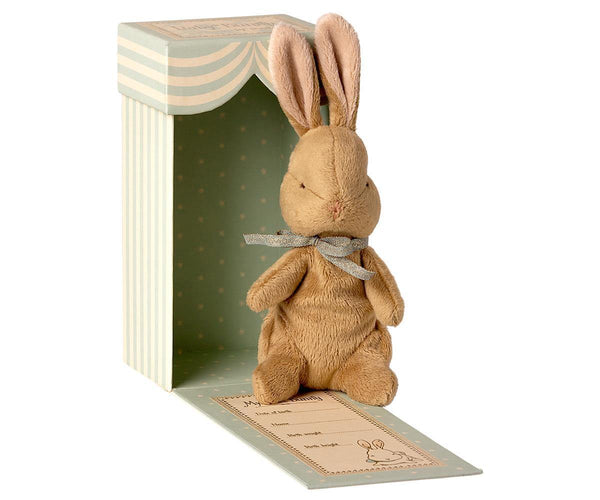 PREORDER Maileg My First Bunny - Light Blue