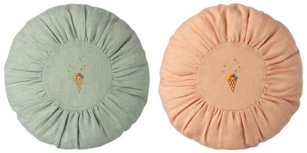 PREORDER Maileg Round Cushion - Rose or Mint