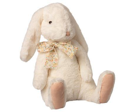 Maileg Fluffy Bunny, X-Large - White, Children's Accessories - turquoise, llc