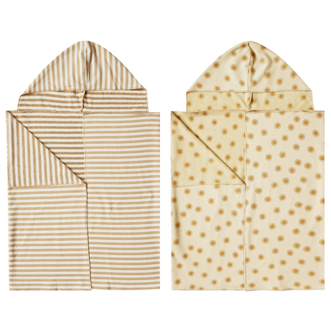 Rylee + Cru Hooded Towel - Multiple Colors Available