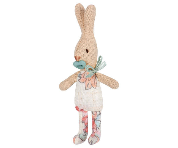 Maileg My Rabbit in Carry Cot, Children's Accessories - turquoise, llc