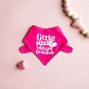 Little Miss Heart Breaker Cotton Bandana