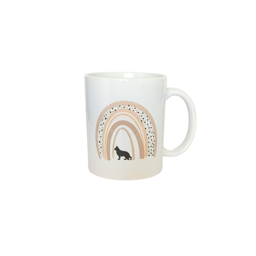 Boho German Shepherd Mug | Ready to ship