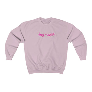 Minimalist Dog Mom Crewneck Sweatshirt