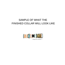 Load image into Gallery viewer, Navy Mini Rosa Eco-Canvas Collar