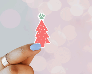 Pink Christmas Tree - Designs By Wildside