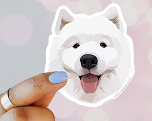 Samoyed Vinyl Sticker