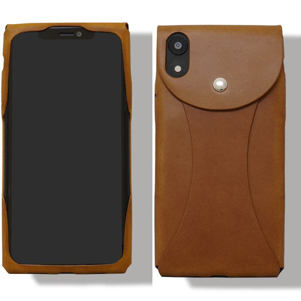 i Wear XR for iPhone XR Genuine Leather cover jacket