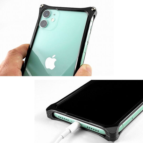 GILDdesign Solid Bumper Case for iPhone 11 Machined Duralumin Aluminium Alloy
