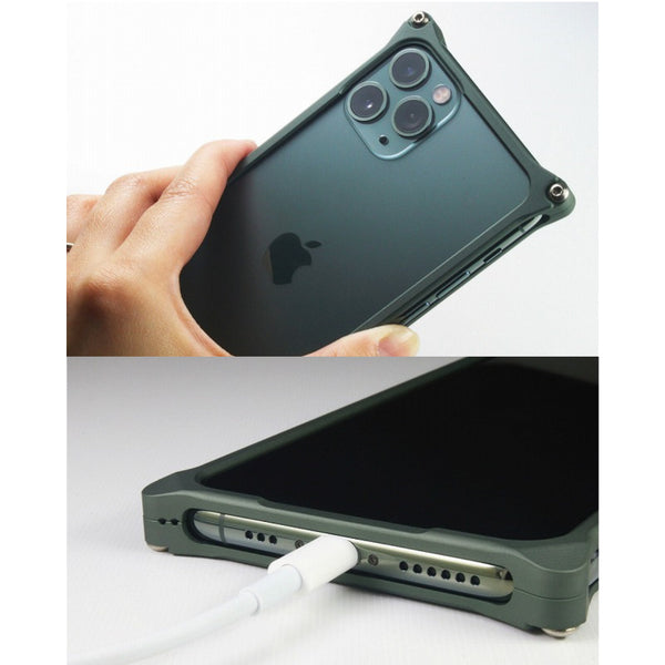 GILDdesign Solid Bumper Case for iPhone 11 Pro Machined Duralumin Aluminium Alloy