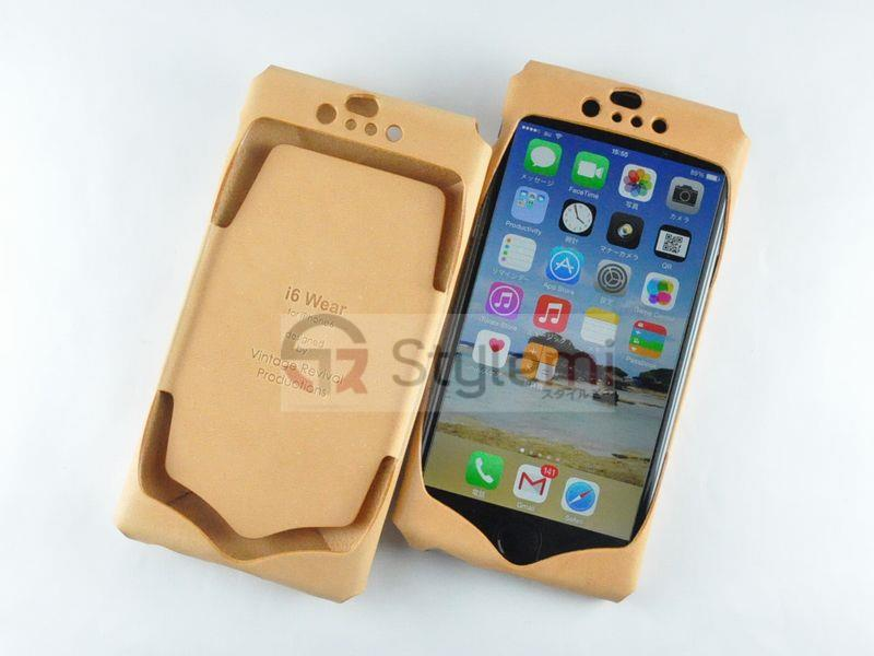 i Wear for iPhone 8 / 7 (4.7) Genuine Leather cover jacket