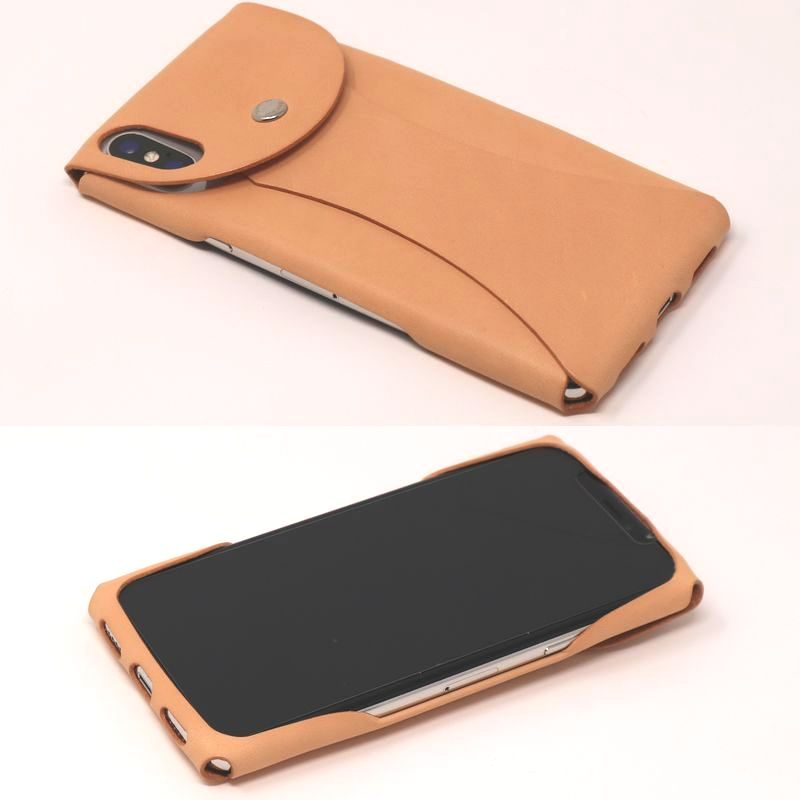 i Wear X for iPhone X Genuine Leather cover jacket
