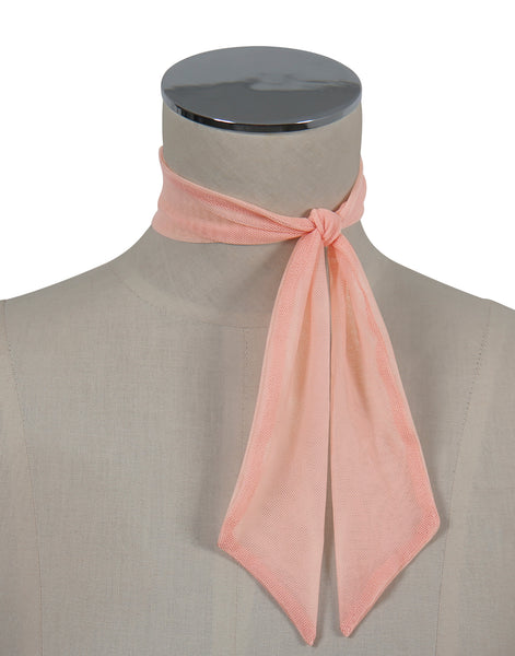 D'Amour Mesh Scarf (Pale Pink)