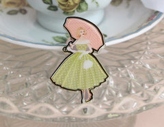 My Giddy Aunt Brooch