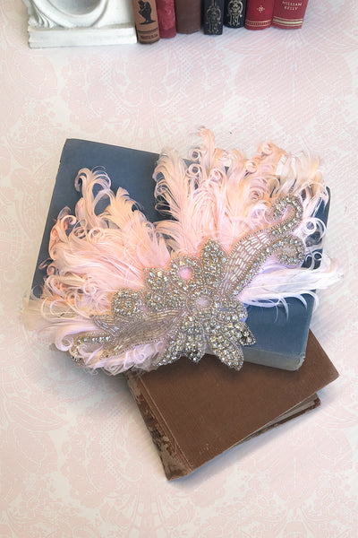 Chateau Feather Fascinator (Large)