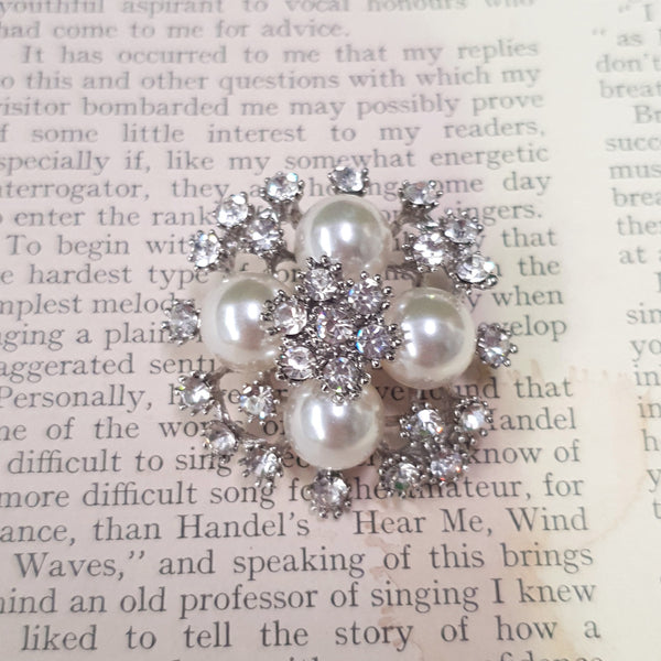 Pretty As A Pearl Brooch
