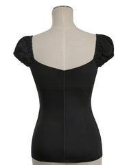 D'Amour Cap Sleeve Camisole (Black)