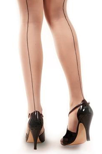 Pantyhose Back Seam (Black)