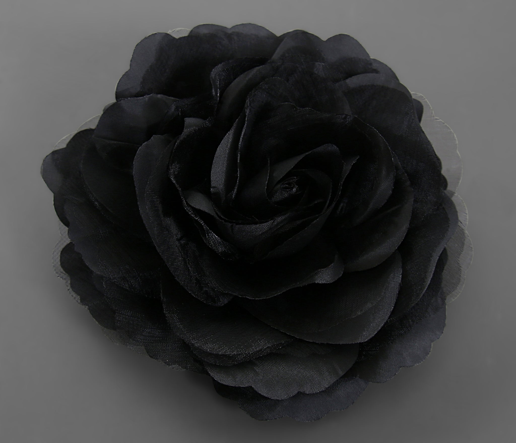 Large Flower Bomb Clip (Black)