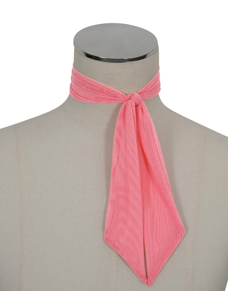 D'Amour Mesh Scarf (Pink)