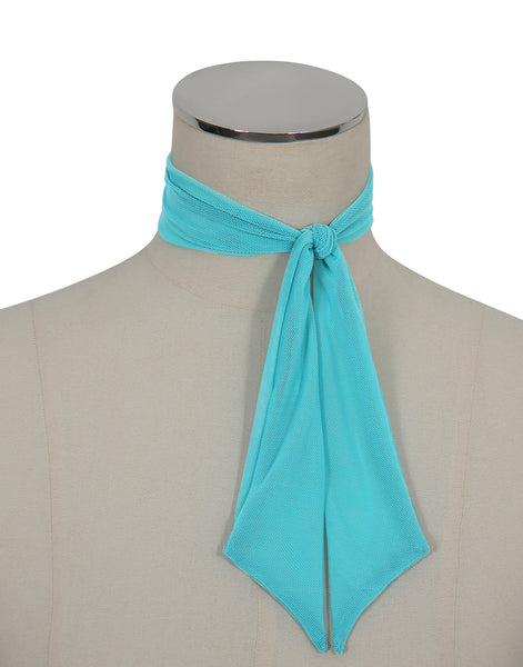 D'Amour Mesh Scarf (Teal)
