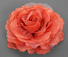 Large Flower Bomb Clip (Burnt Orange)