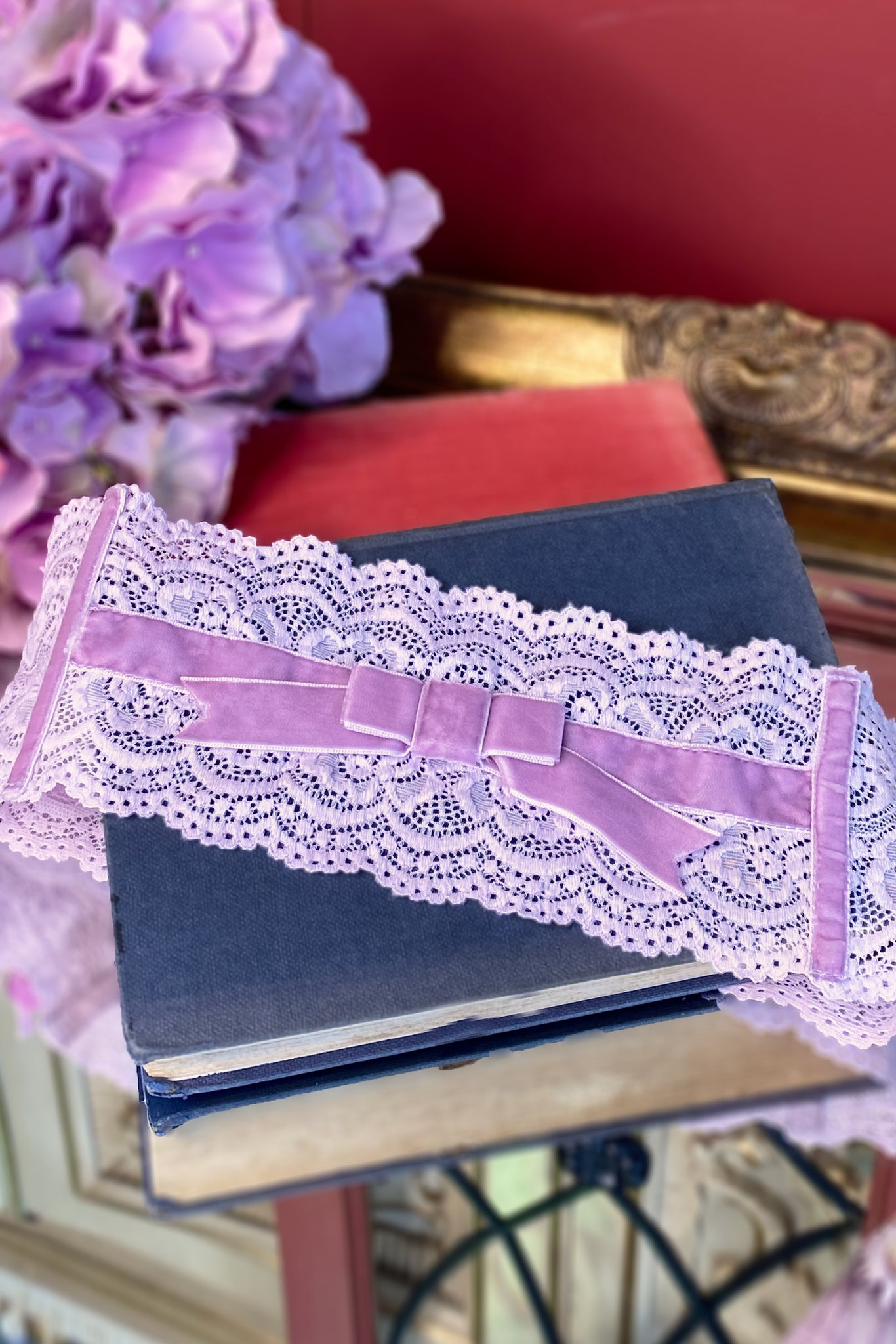 Audrey Narrow Belt (Lilac)